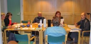 Palokka-Seuran johtokunnan kokous 9.11.2005.