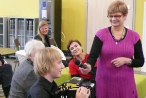 Kulttuuriviikko 2012, haastattelussa hanuristi Mikko Makkonen