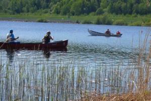 Veneenkääntöpäivä 25.5.2013 Palokkajärvi, Kuva: Kimmo Leimu