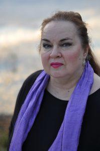 Kirjailija Pirjo Hassinen